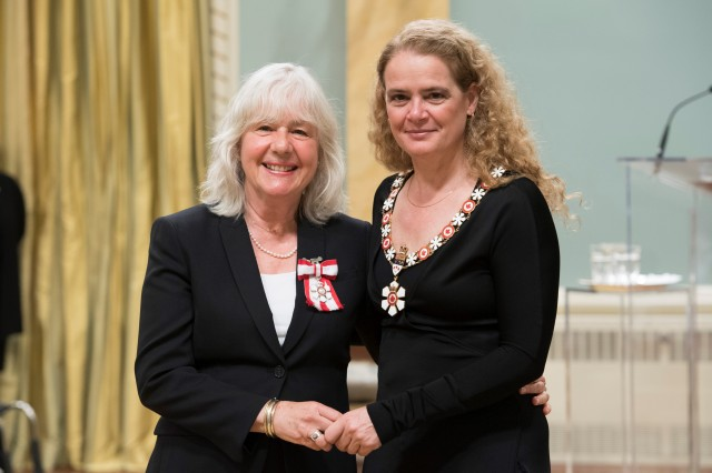 Order of Canada Investiture Ceremony / Cérémonie d'investiture